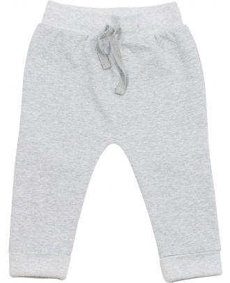 Pantalon bébé de jogging LW062 - Heather Grey