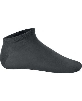 Socquettes sport Bambou PA037 - Dark Grey