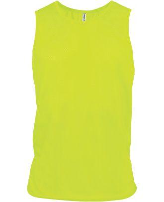 Chasuble en filet léger multisports PA043 - Fluorescent Yellow