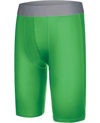 Sous-short long enfant sport PA008 - Green