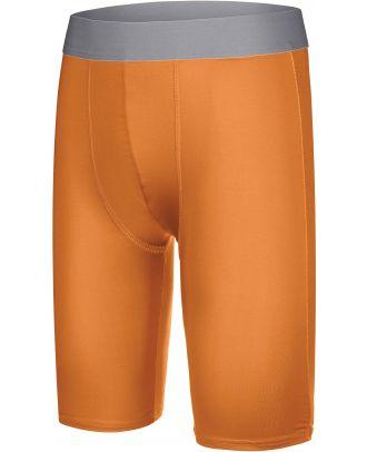 Sous-short long enfant sport PA008 - Orange