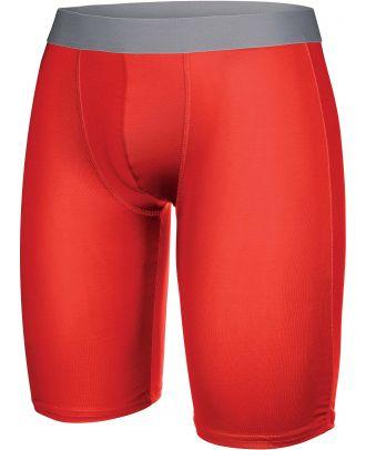 Sous-short long enfant sport PA008 - Sporty Red