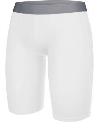 Sous-short long enfant sport PA008 - White
