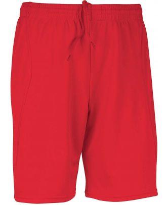 Short de sport PA101 - Sporty Red