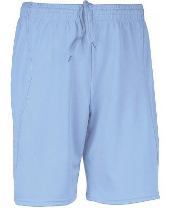 Short enfant de sport PA103 - Sky Blue