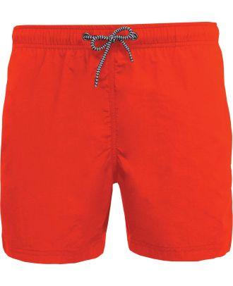 Short de bain PA168 - Crush Orange