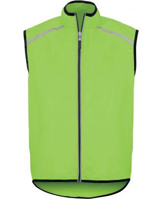 Gilet cycliste unisexe PA230 - Lime