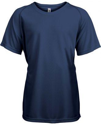 T-shirt enfant manches courtes sport PA445 - Sporty Navy