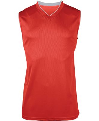 Maillot Basket-ball enfant PA461 - Sporty Red