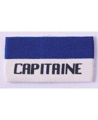 Brassard Capitaine PA677 - White / Royal Blue
