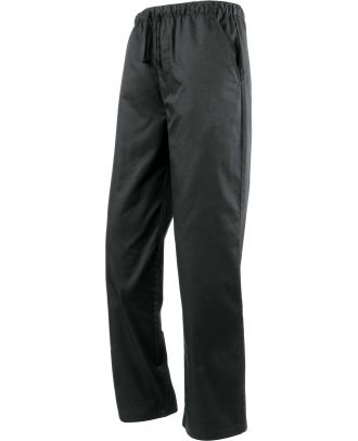 Pantalon de cuisine unisexe PR553 - Black