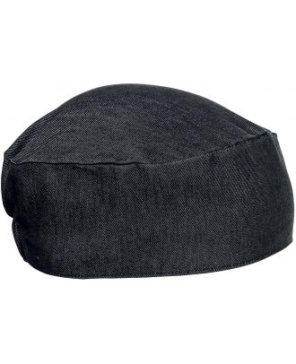 Calot de cuisinier PR653 - Black Denim