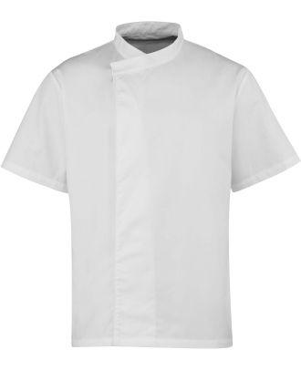 Tunique de cuisine manches courtes PR668 - White