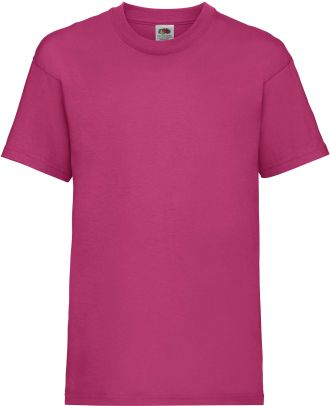 T-shirt enfant manches courtes Valueweight SC221B - Fuchsia