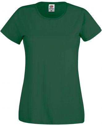 T-shirt femme manches courtes Original-T SC61420 - Bottle Green de face