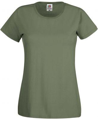 T-shirt femme manches courtes Original-T SC61420 - Classic Olive de face