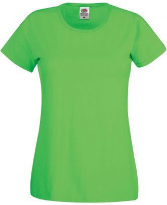 T-shirt femme manches courtes Original-T SC61420 - Lime de face
