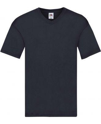 T-shirt homme col V Original-T SC61426 - Deep Navy