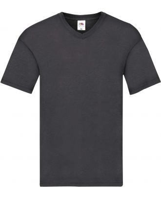 T-shirt homme col V Original-T SC61426 - Light Graphite