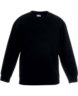 Sweat-shirt enfant col rond classic SC62041 - Black