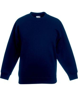 Sweat-shirt enfant col rond classic SC62041 - Navy