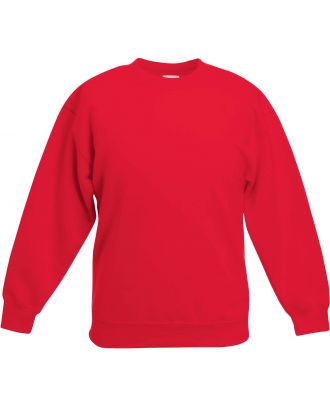 Sweat-shirt enfant col rond classic SC62041 - Red