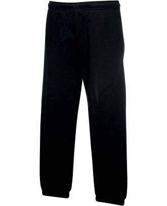 Pantalon jogging enfant bas élastiqué SC64051 - Black