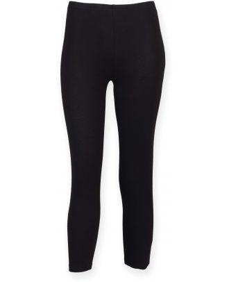 Legging 3/4 femme SK068 - Black