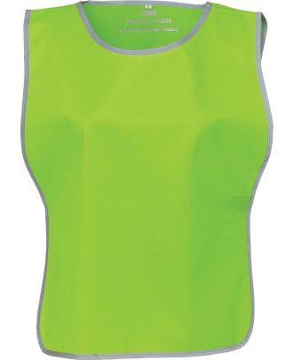Chasuble à bordure réfléchissante HVJ259 - Lime