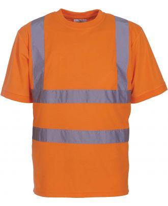 T-shirt haute visibilité HVJ410 - Hi Vis Orange