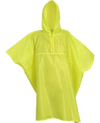 Poncho de pluie léger HVS470 - Yellow