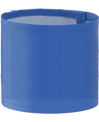 Brassard haute visibilité large personnalisable HVW066 - Royal Blue