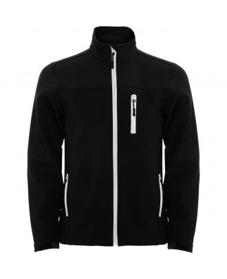 Softshell micropolaire manches longues ANTARTIDA noir